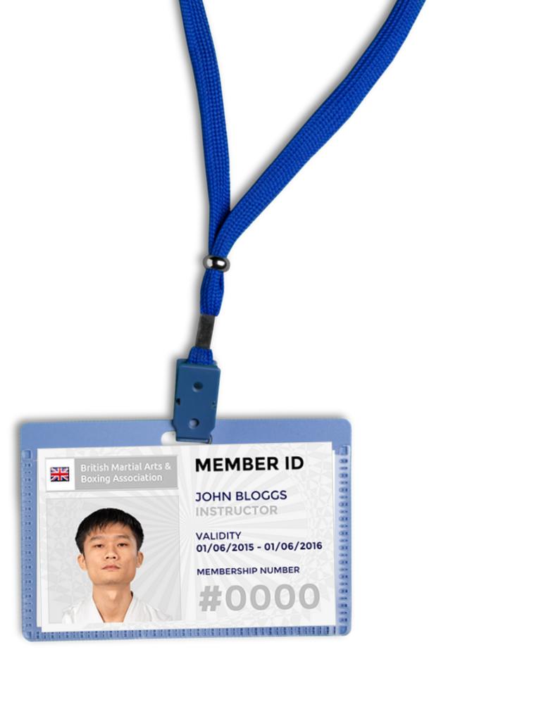 BMABA ID Card In Lanyard