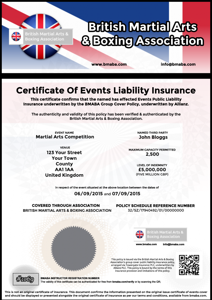 Events Insurance 2015